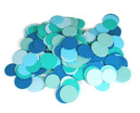 Aqua-Circle-Confetti