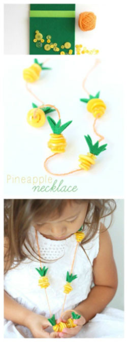 Pineapple-necklace