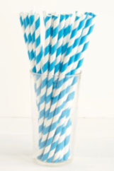 blue-and-white-striped-straws