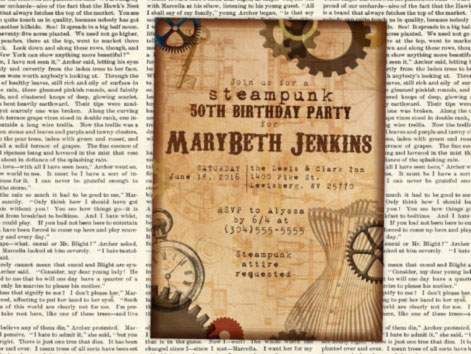 steampunk-printable-invitations