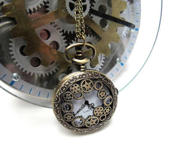 Steampunk-Pocket-Watch-Jewelry