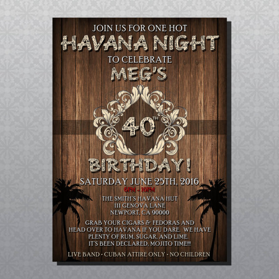 Cuban Nights Party Theme To Taste Themes