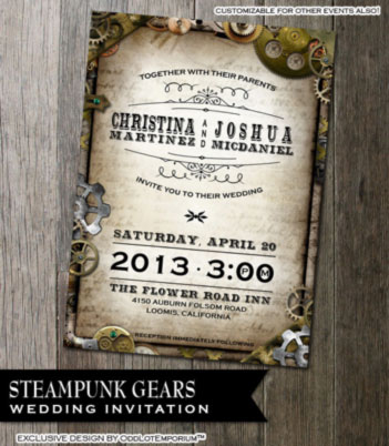 steampunk-gear-invitation