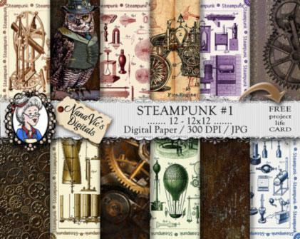steampunk-paper